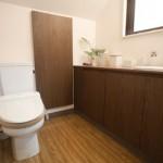 癒しの広々トイレ