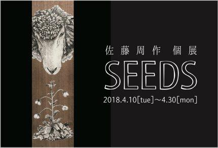 2018年 個展 SEEDS